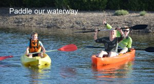 Paddle our waterway