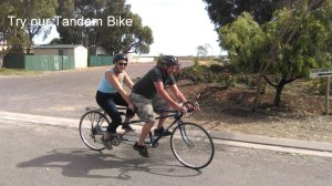 Try our Tandem Bike